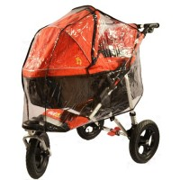 Out'n'About Single Carry Cot Rain Cover XL