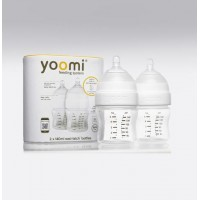 Yoomi 5oz Feeding Bottle 2pk